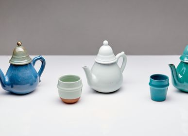 Tea and coffee accessories - Handmade ceramic teapots - POTERIE SERGHINI