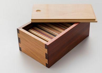 Boîtes de rangement  - boîte d'échantillons en bois - ÁLVARO WOLMER