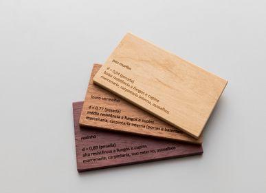 Storage boxes - box of wooden samples - ÁLVARO WOLMER