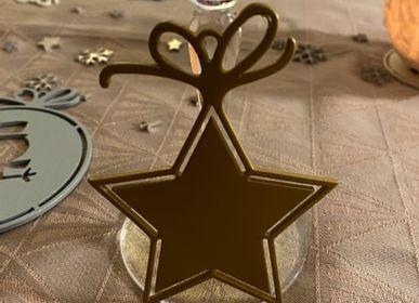 Christmas decoration - ORANGE WALL CACTUS - LP DESIGN