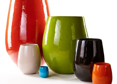Flower pots - Handmade ceramic garden pots - POTERIE SERGHINI