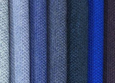 Scarves - Scarf 100% Merino Electric blue. - MONTÓN DE TRIGO MONTÓN DE PAJA
