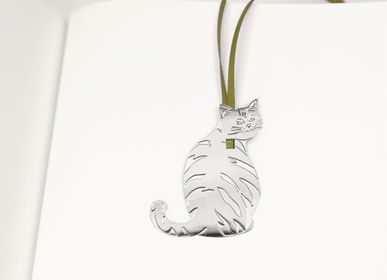 Stationery store - Stainless steel bookmark - Cats - TOUT SIMPLEMENT,