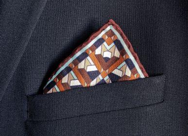 Scarves - Silk Pocket Squares - CORALIE PREVERT PARIS