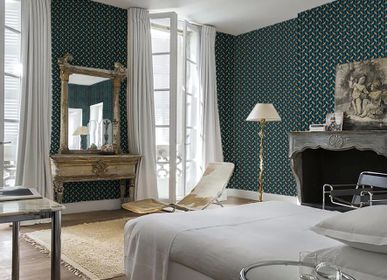 Wallpaper - Eco-friendly Wallpaper COUPDEFOUDRER - CORALIE PREVERT PARIS