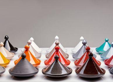 Plats et saladiers - Tajines faits-mains en céramique - POTERIE SERGHINI