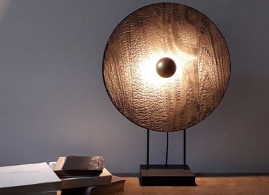 Table lamps - Table lamp BLACK MOON - CLAIRE MAZUREL