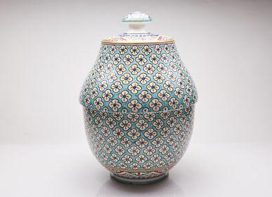 Storage boxes - Ceramic Handmade Boxes - POTERIE SERGHINI