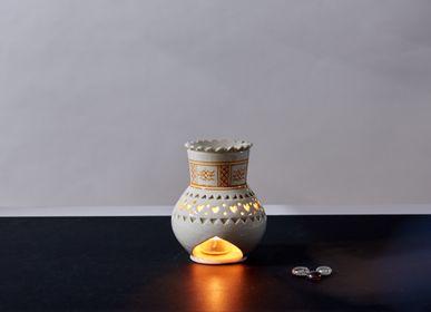 Gifts - Ceramic handmade perfumes burners - POTERIE SERGHINI