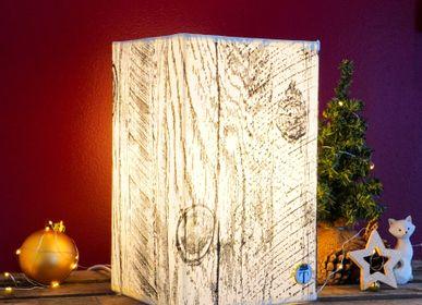 Lampes à poser - Lampe Bois Graphique - ATELIER TAMBONE
