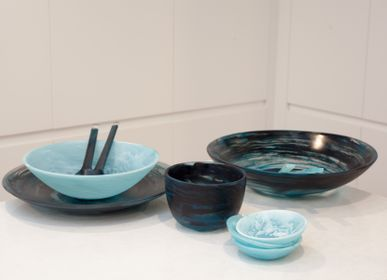 Design objects - Everday_deep bowl small_aqua - NASHI HOME
