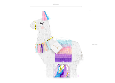 Party decorations - Pinata Llama, 41x49.5x10cm - PARTYDECO