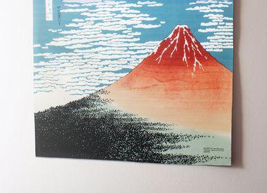 Affiches - 104 Ukiyo-e | Vent du Sud, Ciel clair  - MUSUBI