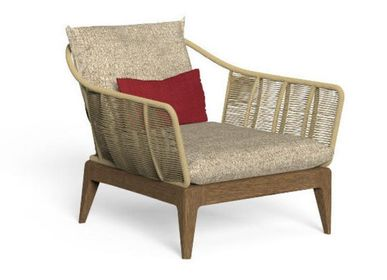 Lawn armchairs - CRUISE//TEAK LIVING - TONICIE'S