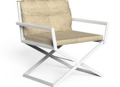 Chaises de jardin - DOMINO LOUNGE DIRECTOR CHAIR - TONICIE'S
