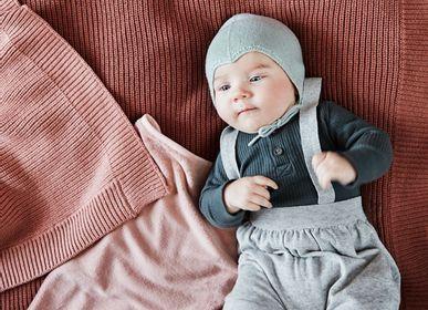 Throw blankets - Wool Knitted Blanket - ELODIE DETAILS FRANCE