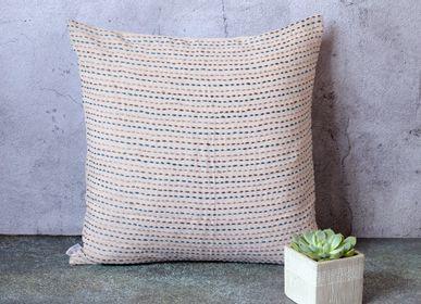 Cushions - Linen Cushion Cover - Trait d'Union - 50 x 50 cm - CONSTELLE HOME