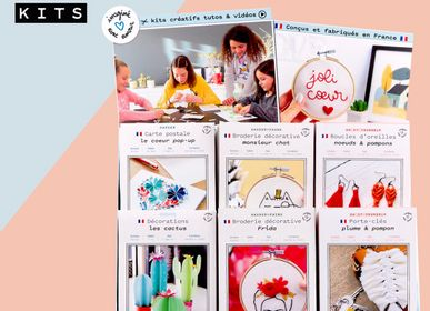 Decorative objects - Implantation Offer: 24 creative kits + Display Stand Offered - FRENCH KITS