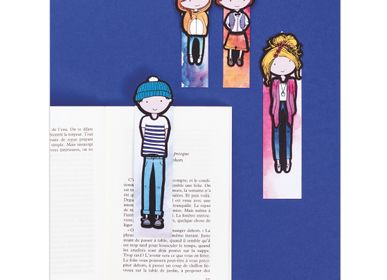 Creative Hobbies - French'Kits - Bookmarks - The Family - FRENCH KITS