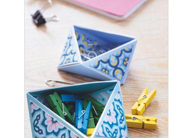 Objets de décoration - Kit créatif - Vide Poches - Les géométriques - FRENCH KITS