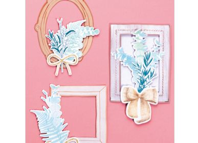 Creative Hobbies - Creative kit - Wall Decorations - Romantic Frame - FRENCH KITS