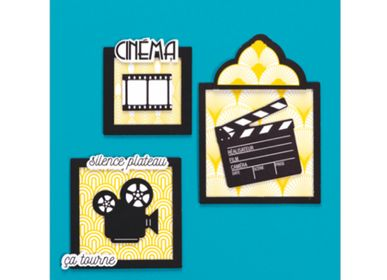 Creative Hobbies - Creative kit - Wall decorations - Cinema frame - FRENCH KITS