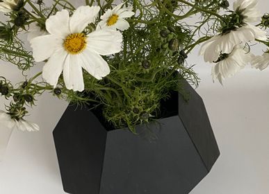 Decorative accessories - Penta slate vase - LE TRÈFLE BLEU