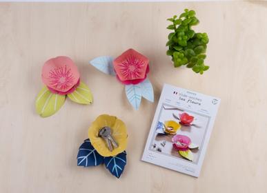 Objets de décoration - Kit créatif - Vide Poches - Les fleurs - FRENCH KITS