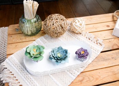 Floral decoration - Creative kit - Decoration - Succulents - FRENCH KITS
