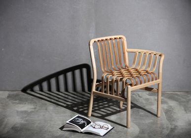 Lounge chairs for hospitalities & contracts - Lattice Chair - NEO-TAIWANESE CRAFTSMANSHIP