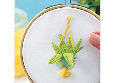 Creative hobbies - Decorative Embroidery Kit - Aloe Vera - FRENCH KITS