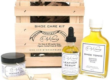 Shoes - Shoe Care Kit - CHRISTOPHE POURNY STUDIO