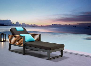 Lawn sofas   - New York Sunbed - SUNSO