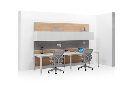 Furniture and storage - Layout Workwall - HERMAN MILLER