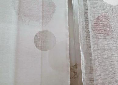 Revêtements muraux - Tissu TIZI Blanc - SOUMIYA JALAL