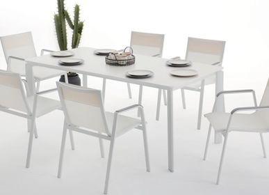 Dining Tables - Sunset Dining Set with 6 Chairs - SUNSO