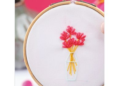 Gifts - Creative Kit - Decorative Embroidery - Bouquet of Flowers - FRENCH KITS