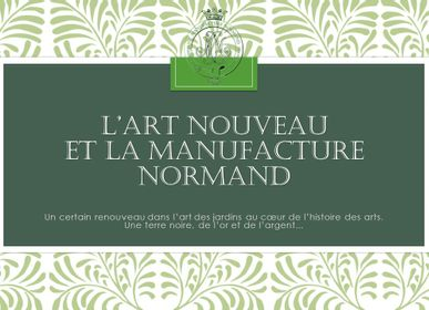 Window boxes - Art Nouveau - MANUFACTURE NORMAND