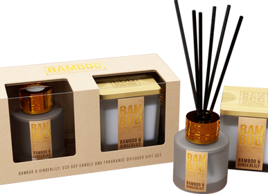 Bougies - BAMBOO by Heart & Home - KONTIKI
