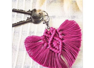 Decorative objects - Creative DIY Kit - Keychain - Heart - FRENCH KITS