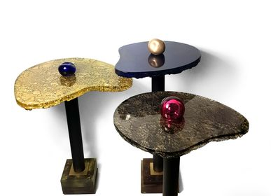 Objets design - Tables basses en verre d'art Fables III - BARANSKA DESIGN