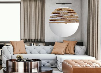 Mirrors - ART Glass  Mirror Desert Sun - BARANSKA DESIGN
