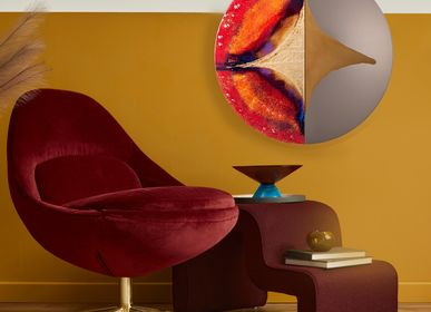 Mirrors - Four Seasons Autumn ART Mirror - BARANSKA DESIGN