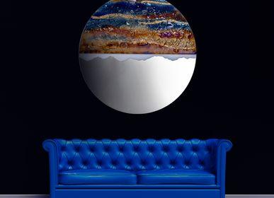 Objets design - ART Miroir en verre coucher de soleil - BARANSKA DESIGN