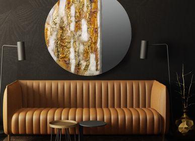 Design objects - ART  Glass Mirror Sunrise - BARANSKA DESIGN