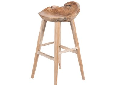 Stools - Bar stool BRUT - JOE SAYEGH PARIS