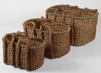 Decorative objects - Set of 3 baskets TASINDA - JOE SAYEGH PARIS
