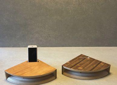 Enceintes et radios - corne de bois L - CLAPPIN JAM