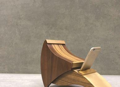 Enceintes et radios - corne de bois TALL - CLAPPIN JAM