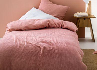 Bed linens - Simplement gaufré enfant - BLANC CERISE